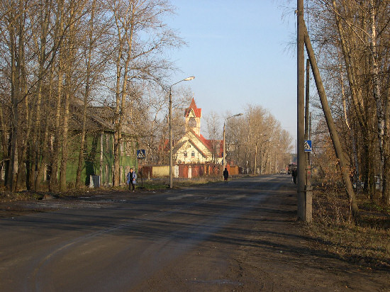 Улица лесная улица летняя улица