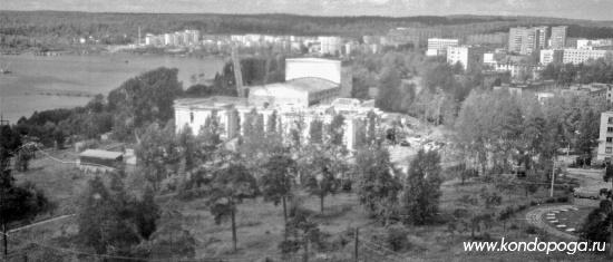1996 год. Реконструкция ДК