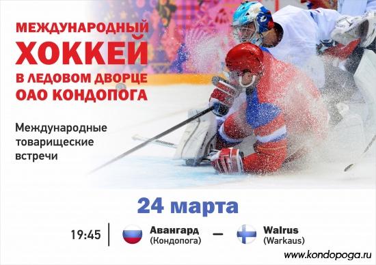 """Хоккей в Ледовом Дворце ОАО """"Кондопога"""""""